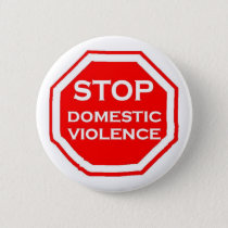 Stop Domestic Violence Pinback Button