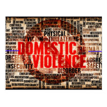 Stop Domestic Violence Postcard