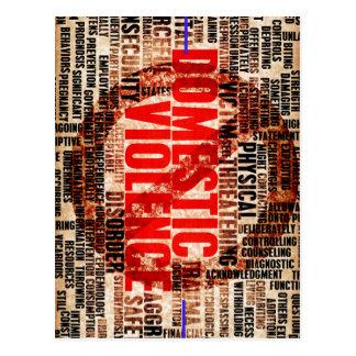 Stop Domestic Violence Postcard
