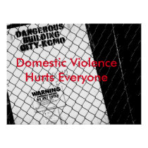 Stop Domestic Violence poster