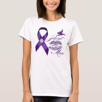 Stop domestic violence tee shirt