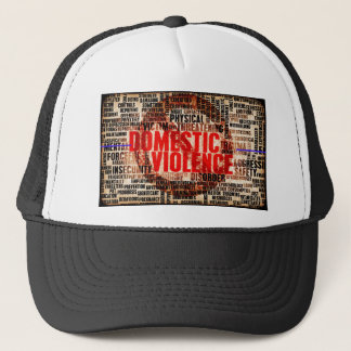 Stop Domestic Violence Trucker Hat