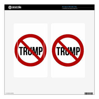 Stop Donald Trump Anti-Trump 2016 Skins For Kindle Fire