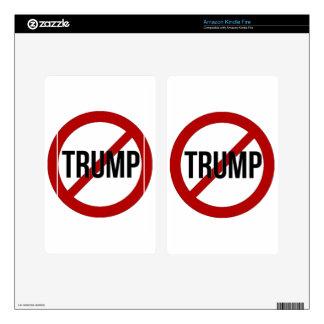 Stop Donald Trump Anti-Trump Kindle Fire Decal