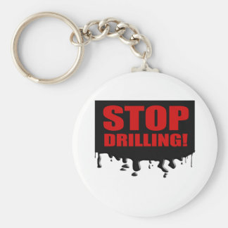 STOP DRILLING KEYCHAIN