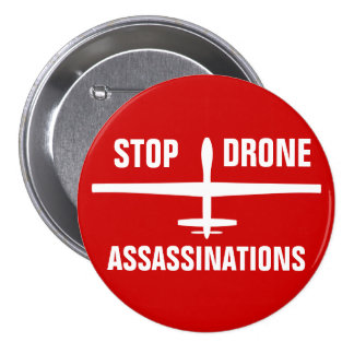 Stop Drone Assassinations Buttons
