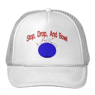 Stop Drop Bowl Trucker Hat
