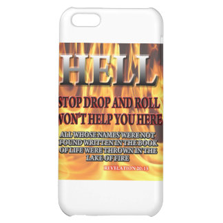 Stop Drop Roll iPhone 5C Covers