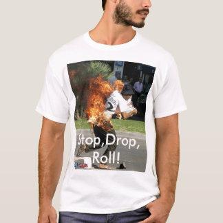 Stop,Drop,Roll promo Tee