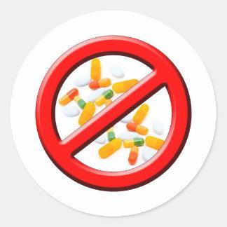 Stop Drugs! Sticker