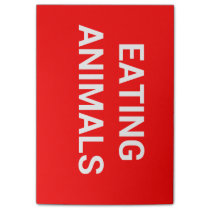 STOP EATING ANIMALS POST-IT NOTES