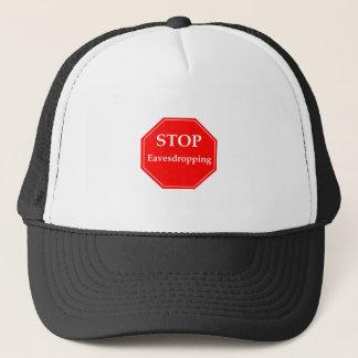 Stop Eavesdropping Trucker Hat