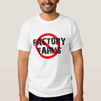 STOP FACTORY FARMING TEE SHIRT