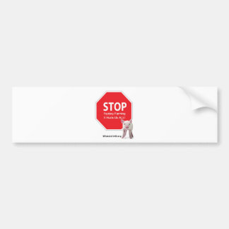 Stop Factory Farms Series 1 Car Bumper Sticker
