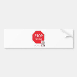 Stop Factory Farms Series 1 Bumper Sticker