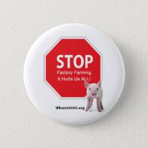 Stop Factory Farms Series 1 Button