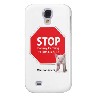 Stop Factory Farms Series 1 Galaxy S4 Case