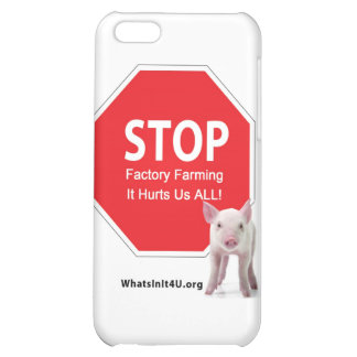 Stop Factory Farms Series 1 iPhone 5C Cover