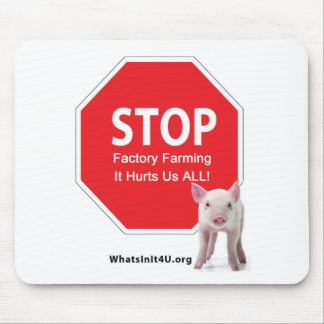 Stop Factory Farms Series 1 Mouse Pad
