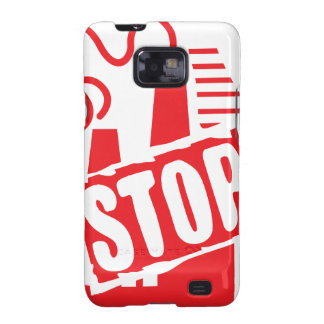 STOP FACTORY POLLUTION RED LOGO CAUSES ENVIRONMENT GALAXY SII COVER