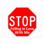 Stop Falling In Love Post Cards