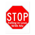 Stop Falling In Love Postcards