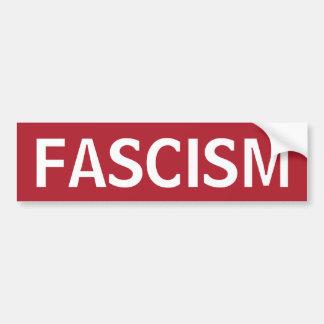 STOP FASCISM BUMPER STICKER