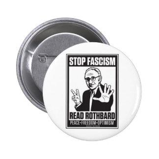 Stop Fascism Button