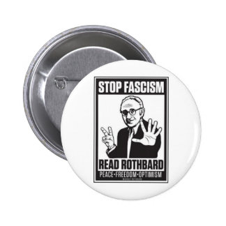 Stop Fascism Pinback Buttons