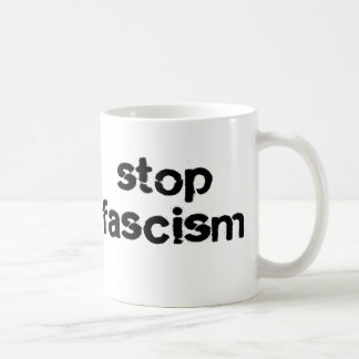 Stop Fascism Coffee Mug
