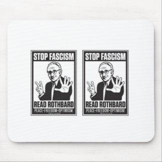 Stop Fascism Mouse Pad