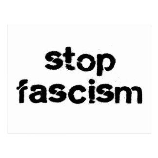 Stop Fascism Postcard