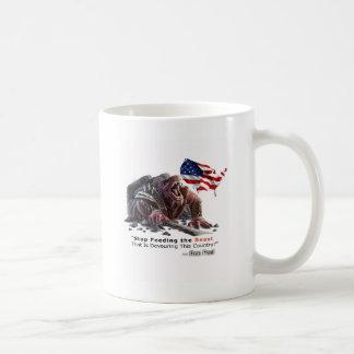STOP Feeding the Beast Classic White Coffee Mug