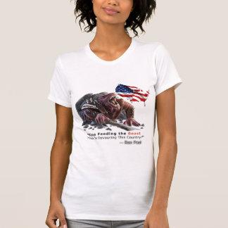 Stop Feeding the Beast T-Shirt Female
