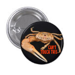 Stop- Fiddler Time 1 Inch Round Button