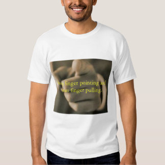 stop finger pointing shirt