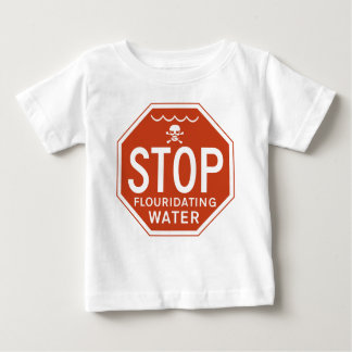 STOP FLUORIDATING WATER -fluoride/activism/protest T-shirts