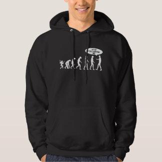 Stop Following Adult Hooded Sweatshirt
