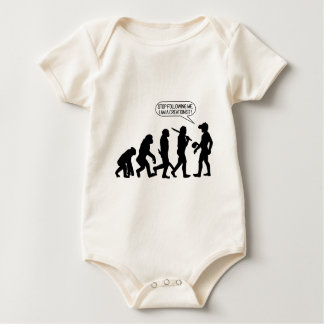 Stop following me, I'm a Creationist! Baby Bodysuit