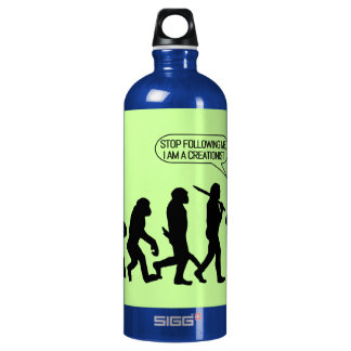 Stop following me, I'm a Creationist! SIGG Traveler 1.0L Water Bottle