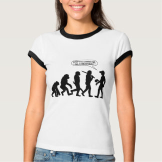 Stop following me, I'm a Creationist! T-Shirt