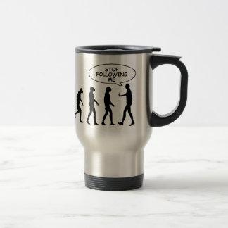 Stop Following Me Travel Mug