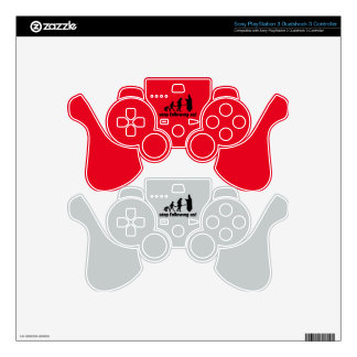 Stop following us! skins for PS3 controllers