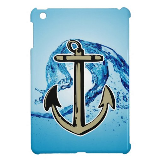 Stop for further success Anchor sailing iPad Mini Covers