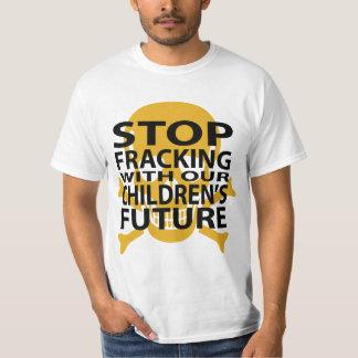 Stop Fracking Anti-fracking T-Shirt