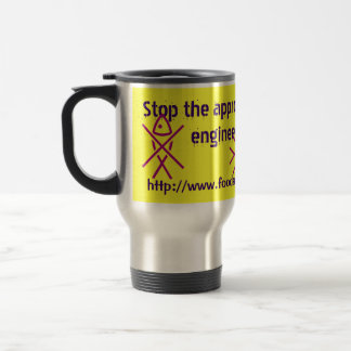 stop franken-fish travel mug
