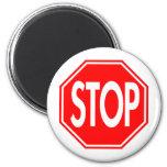 Stop Fridge Magnets