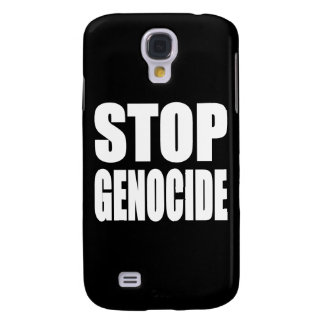 Stop Genocide. Protest Message. Galaxy S4 Cover