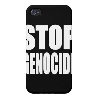 Stop Genocide. Protest Message. iPhone 4 Covers