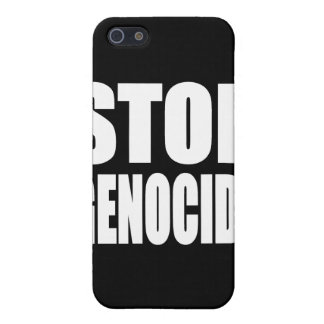Stop Genocide. Protest Message. iPhone 5 Cover